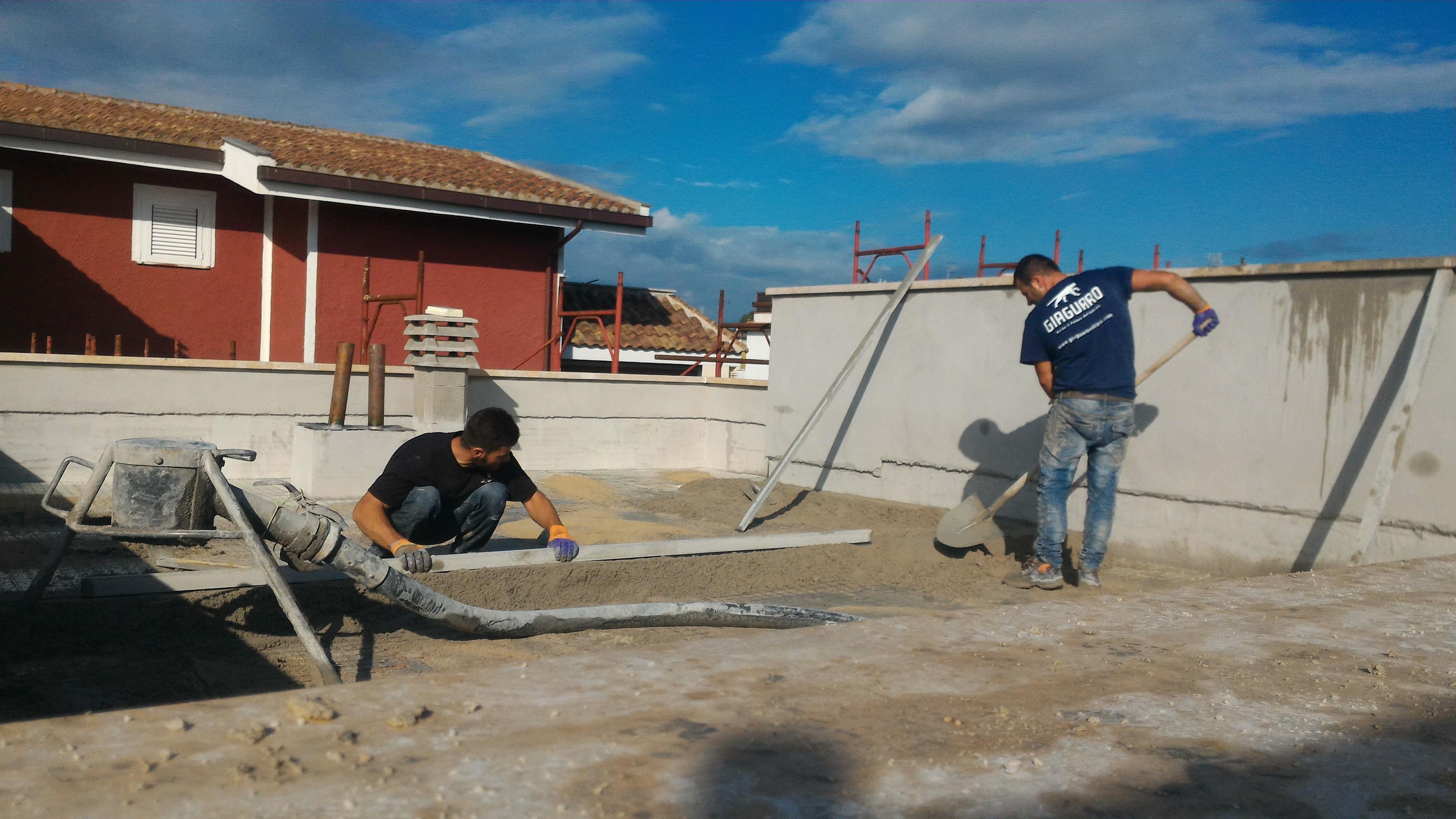 Il massetto perfetto per il riscaldamento a pavimento - Massetto sabbia cemento proporzioni ...